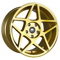 MST MT26 Wheel Rim 17x9 5x114.3 ET30 73.1 Transparent Gold