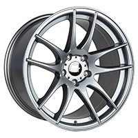 MST MT30 Wheel Rim 17x9 5x114.3 ET30 73.1 Gunmetal