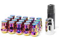 MUTEKI LUG NUTS SR35 CLOSED END 16+4 12X1.50 35MM NEOCHROME
