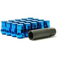 MUTEKI LUG NUTS SR35 CLOSED END 16+4 12X1.50 35MM BLUE