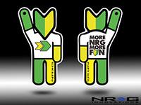 NRG  Air Freshener Squash Man