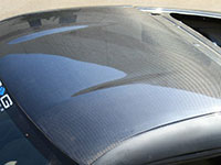NRG Carbon Roof Cover Overlay 03-07 Nissan 350Z