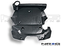 NRG  Blk. C.F. Engine Cover - 07-Up 350Z