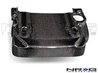NRG  Blk. C.F. Engine Cover - 03-06 350Z (Also fits 03-06 Infiniti G35 2dr)