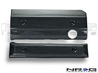 NRG  Blk. C.F. Engine Cover - M54
