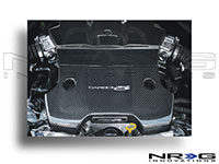 NRG  Blk. C.F. Engine Cover - 370Z