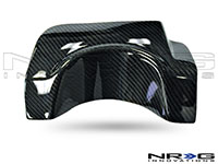 NRG  Carbon Fiber Exhaust Shield - 04-07 Subaru WRX STI