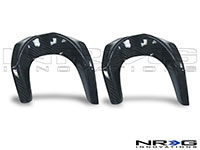 NRG  Carbon Fiber Exhaust Shield - 03-06 Infiniti G35 Coupe