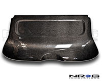 NRG  Blk. C.F. Interior Deck Lid - 01-05 Civic HB EP3