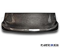 NRG  Blk. C.F. Interior Deck Lid - 94-01 Acura Integra HB DC2