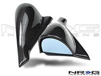 NRG  Carbon Fiber STI Style Mirrors 03-07 Subaru WRX