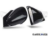 NRG  Carbon Fiber RA Style Mirrors Mitsubishi Evo 8 & 9