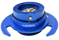 NRG  Quick Release Kit Gen 3.0 - Blue Body/Blue Ring w/Handles