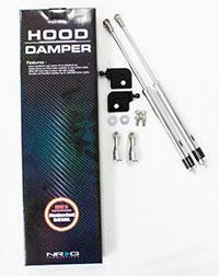 NRG Hood Damper Kit Polished 94-01 Acura Integra