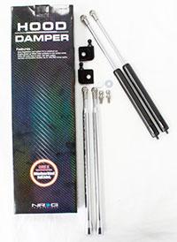 NRG Hood Damper Kit Carbon Fiber 89-94 240SX S13