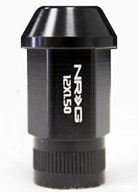NRG 100 Series M12 x 1.5 Lug Nut Set 4 pc Matte Black