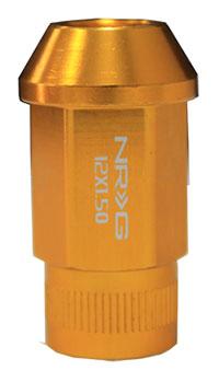 NRG 100 Series M12 x 1.5 Lug Nut Set 4 pc Rose Gold