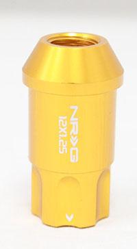 NRG 100 Series M12 x 1.25 Lug Nut Lock Set 4 pc Rose Gold