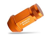 NRG 100 Series M12 x 1.5 Lug Nut Set 4 pc Rose Gold Closed End