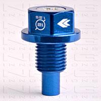 NRG Magnetic Oil Drain Plug Blue - M12x1.25 Infiniti,Lexus,Nissan,Toyota