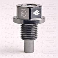 NRG Magnetic Oil Drain Plug Gun Metal - M12x1.25 Infiniti,Lexus,Nissan,Toyota