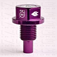 NRG Magnetic Oil Drain Plug Purple - M12x1.25 Infiniti,Lexus,Nissan,Toyota