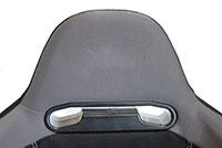 NRG  EVO Style Cloth Sport Seat w/o logo (Left) - Black