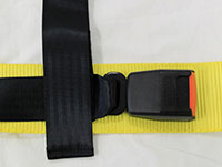 NRG  4 Point Safety Harness - Black