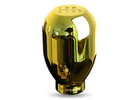 NRG Shift Knob 42mm - 6 Speed Chrome Gold - Heavey weight - Universal