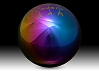 NRG Shift Knob Ball Style Multi-Color Heavy Weight Universal - (480g / 1.1lbs)