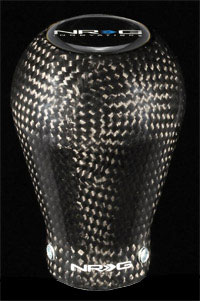 NRG  50mm - 230g Shift knob Black Carbon Fiber