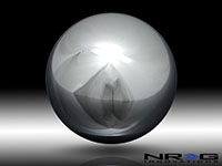 NRG Shift Knob Ball Style Chrome Silver Heavy Weight Universal 1.1LBS/480g