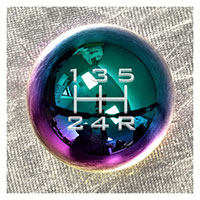 NRG Shift Knob Ball Style Multi-Color Heavy Weight for Honda - (480g / 1.1lbs)