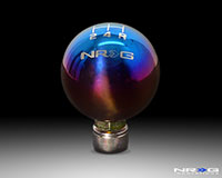NRG Shift Knob Ball Style Burnt Titanium for Honda 5 Speed 42mm