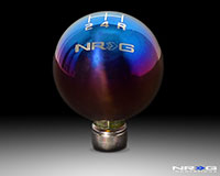 NRG Shift Knob Ball Style Burnt Titanium for Honda 5 Speed 49mm