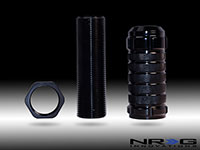 NRG  Stealth Adjustable Shift Knob Black for Honda, Acura, Lotus M10x1.50