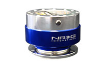 NRG  Quick Release Kit Gen 1.0 - Silver/Blue