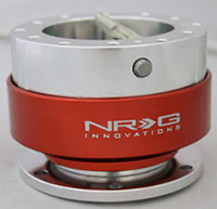 NRG  Quick Release Kit Gen 1.0 - Silver/Red