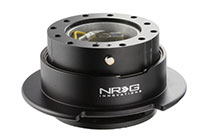 NRG  Quick Release Kit Gen 2.5 - Black/Black Ring