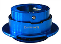NRG  Quick Release Kit Gen 2.5 - New Blue Body/Titanium Chrome Ring