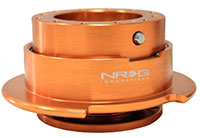 NRG  Quick Release Kit Gen 2.5 - Orange Body/Titanium Chrome Ring