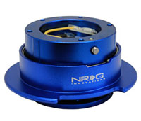 NRG  Quick Release Kit Gen 2.5 - Blue/Blue Ring (5hole)