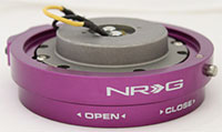 NRG  Quick Release Kit Thin - Purple