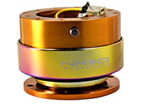 NRG  Quick Release Kit Gen 2.0 - Rose Gold Body/ Titanium Chrome Ring