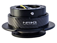 NRG  Quick Release Kit Gen 2.5 - Black/CF Ring