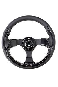 NRG  320mm Sport Steering Wheel w/ Black Trim