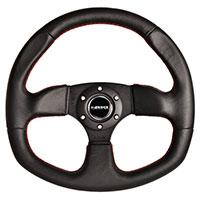 NRG  320mm Sport Leather Steering Wheel Oval