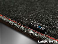NRG  Floor Mats - 02-03 Honda Civic Si 3DR Coupe