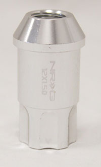 NRG 100 Series M12 x 1.5 Lug Nut Lock Set 4 pc Chrome