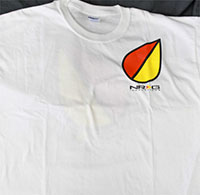 NRG  Elderly Driver Shirt - White